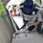 Ghế xe hơi bẩn gây nguy hiểm cho trẻ em