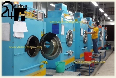 Máy giặt hấp áo vest công nghiệp