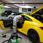 Car interior cleaning in Ho Chi Minh city