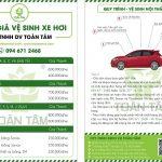 Phương pháp vệ sinh nội thất xe hơi Toyota Innova