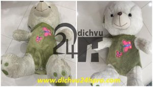 dịch vụ giặt gấu bông tại quận 1