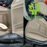 Dịch vụ vệ sinh nội thất xe hơi (da-nỉ) bảo vệ sức khỏe tại Quận 4.