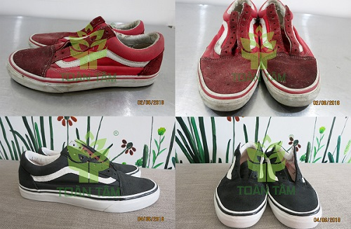 dịch vụ giặt giày, nhuộm giày
