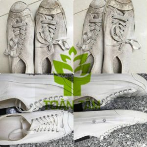 giặt hấp giày thể thao