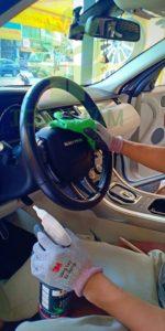 vệ sinh nội thất xe hơi tphcm